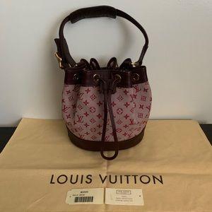 Louis Vuitton Noelie Cerise Handbag